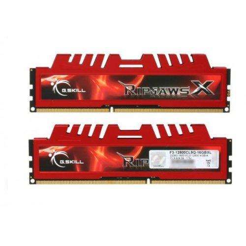 G.SKILL Ripjaws X Series 16GB (4 x 4GB) 240-Pin DDR3 SDRAM DDR3 1600 (PC3 12800) Desktop Memory Model F3-12800CL9Q-16GBXL