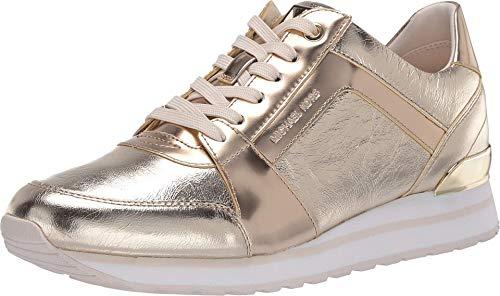 Michael Michael Kors Billie Trainer Pale Gold 9 M