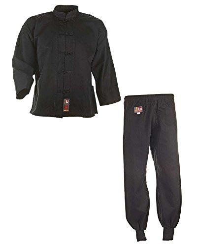 Ju-Sports Kung Fu Anzug schwarz, Cotton