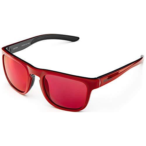 Briko Doctor Mirror Color HD Gafas Sol Casual, Unisex Adulto, Shiny cryst, One