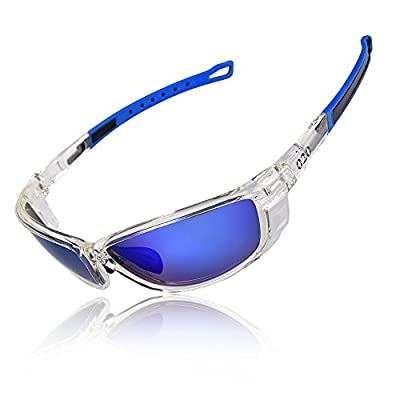 O2O Polarized Sports Sunglasses [Tr90] Frame [One of the Lightest Sports Sunglasses] Only 0.044 Lb for Running Golf Driving Baseball Cycling Fishing Men Women Teens