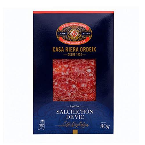 Spanische Edel-Salami Salchichon de Vic Extra Geschnitten 80 g