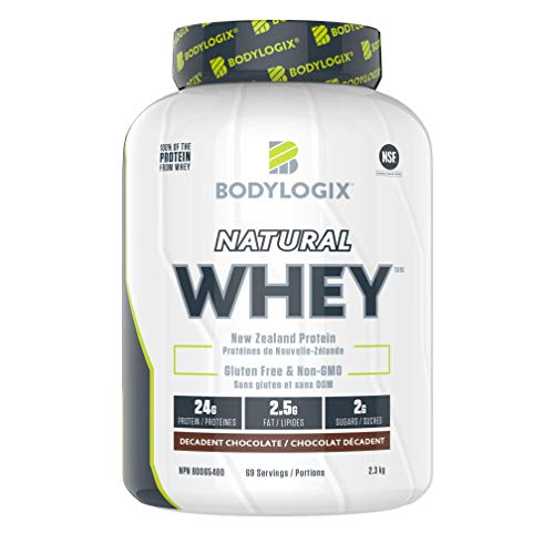 Bodylogix Natural Whey, Decadent Chocolate, 2.3 kg