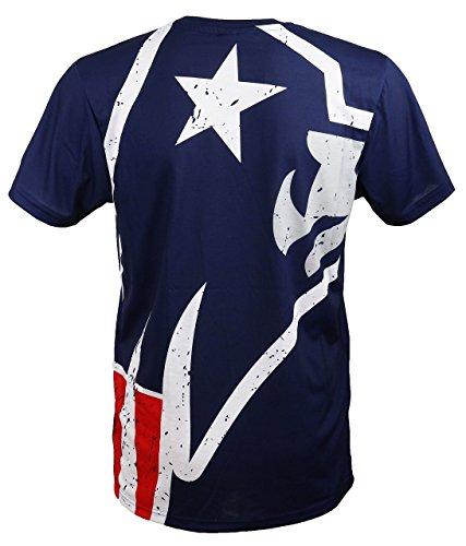New Era New England Patriots T Shirt/Tee Big Logo Back Navy - L