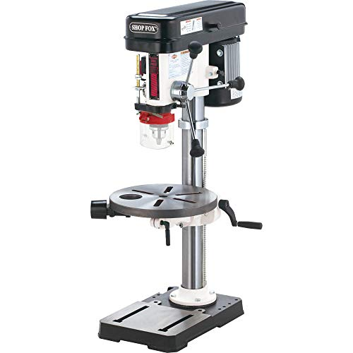Shop Fox 13-Inch Bench-Top`Drill Press/Spindle Sander for Wood