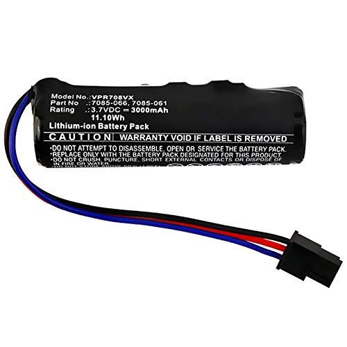 subtel® Premium Akku 3.7V, 3000mAh, Li-Ion kompatibel mit Wolf-Garten 7084-066 / BMZ 1S2P Ersatzakku 7085-061,7085-066,7085-918 Batterie Werkzeugakku