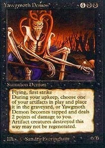 autentico en linea Magic  the Gathering - Yawgmoth Yawgmoth Yawgmoth Demon - Antiquities by Magic  the Gathering  excelentes precios