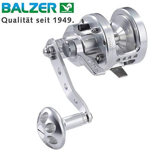Balzer Multirolle Adrenalin AN 12 LH - Linkshand Rolle, Meeresrolle, Hochseerolle zum Pilkangeln, Multi