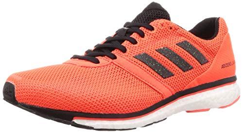 adidas Herren Adizero Adios 4 Laufschuhe, Orange (Solar Orange/Core Black/Hi-Res Coral 0), 43 1/3 EU