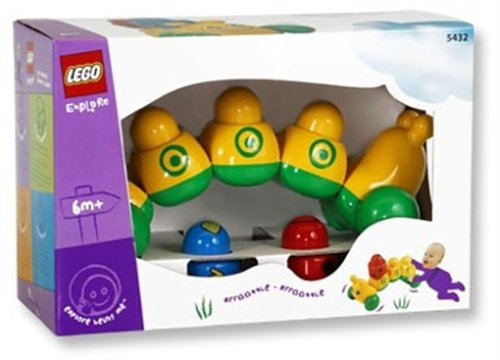 LEGO Primo 5432 - Raupe Löwenzahn