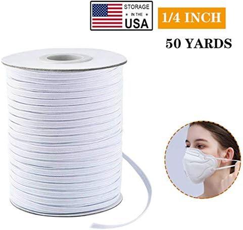 Elastic Bands Premium Elastic Cord Spool Elastic String Headband Elastic for Masks Knit Roll product image