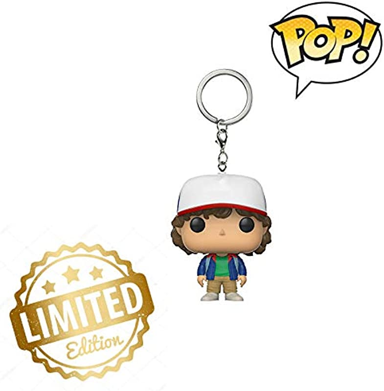 Pop Keychain Stranger Things Dustin Action Figure Limited Edition