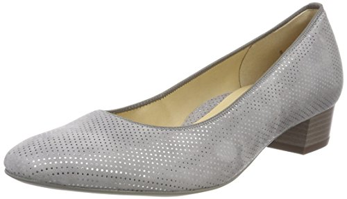 ara Damen Milano Pumps, Grau (Rauch), 41.5 EU (7.5 UK)