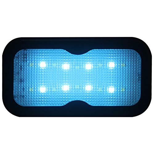 Luz LED para áRea De Carga del Maletero del AutomóVil, Luz De Domo MagnéTica USB InaláMbrica Universal PortáTil Recargable, para IluminacióN Interior Y Exterior De Camping RV De VehíCulos
