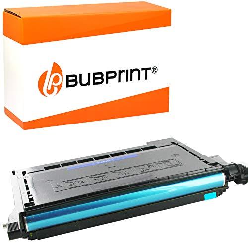 Bubprint Toner kompatibel für Samsung CLT-C5082L/ELS für CLP-620 CLP-620ND CLP-670 CLP-670N CLP-670ND CLX-6220FX CLX-6250FX 4.000 Seiten Cyan
