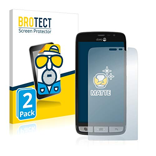 BROTECT 2X Entspiegelungs-Schutzfolie kompatibel mit Doro Liberto 825 Bildschirmschutz-Folie Matt, Anti-Reflex, Anti-Fingerprint
