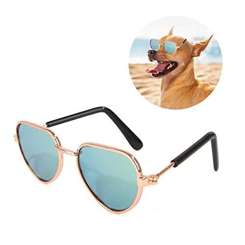 Paradesour Gafas de Sol para Perros, Perro Gafas para Perros pequeños y...