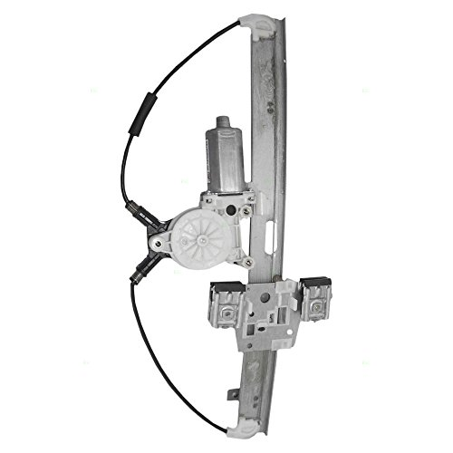 Drivers Front Power Window Lift Regulator & Motor Assembly Replacement for Dodge Mitsubishi Pickup Truck 55359567AC
