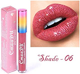 Fanmin Glitter Flip Liquid Lipstick Matte Transforming Waterproof Long Lasting