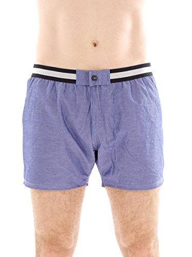 Brunotti Boardshort Badehose Swimwear Ceopardo blau Gummibund Taschen Gr. L 161214604