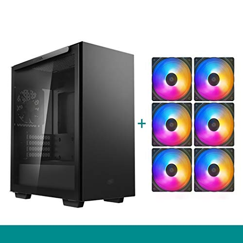 Caso de los juegos de PC ordenador para PC de escr Caja de mainframe del juego de computadora, caja de computadora magnética, estuche pequeño MATX, estuche refrigerado por agua, estuche silencioso, es