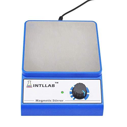 Mr.T Artículos de Vidrio Magnética Mezclador agitador magnético Sin Escala Velocidad de Laboratorio, con Varilla agitadora 3000 RPM Capacidad máxima de Mezcla Utensilios industriales
