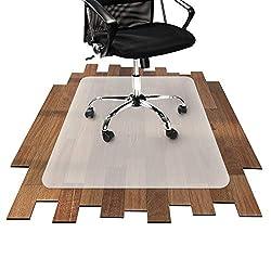 Bürostuhlunterlage für Hartböden (Parkett, Laminat, Fliesen, etc.) (90x90 cm)