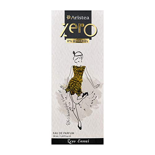 Aristea Zero Ennui - Eau de Parfum ohne Alkohol - blumiger Duft für Damen - Parfüm für Frauen (1 x 50 ml)