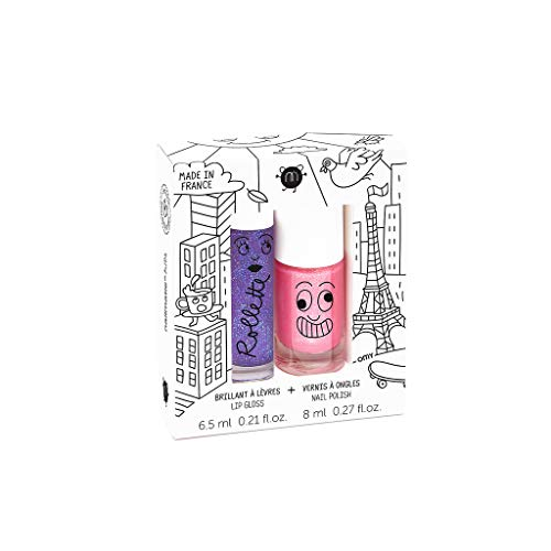 Nailmatic Kinder-Lipgloss & -Nagellack-Set, Lovely City