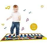 Teepao Piano - Alfombrilla de Juego, portátil, Musical, para niños, niñas, niños, con Volumen...