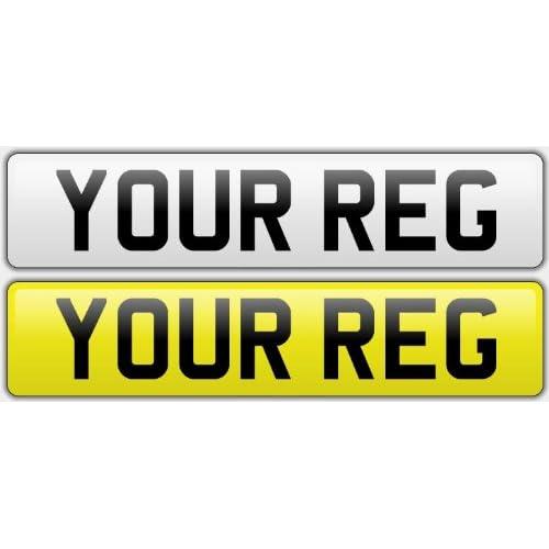 PAIR STANDARD CAR NUMBER PLATES 100/% ROAD LEGAL REGISTRATION PREMIUM QUALITY