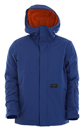 G.S.M. Europe - Billabong Herren Legacy Plain Jacket Jacke, Blau (Mazarine), M