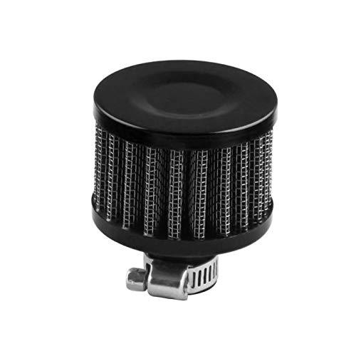 QREAEDZ 12 mm Aceite de Auto de Aire frío Caja de manivela Turbo ventilación Filtro de ventilación Filtro de automóvil Filtro de Aire Accesorios para automóviles (Color : 5)