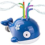 Wassersprinkler Spielzeug für Kinder, Sprinkler Kinder Spielzeug, Wasserspielzeug Garten Spielzeug, Kinder Sommer Wassersprühsprinkler mit Wackelröhren für Hinterhof, Rasen, Spielen im Freien, Garten