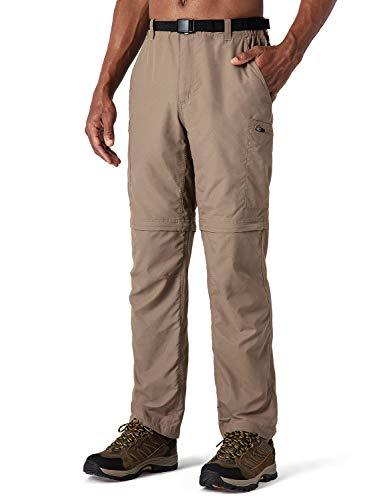 NAVISKIN heren afritsbroek 2-in-1 wandelbroek ademend outdoorbroek ritszakken UV-bescherming UPF 50+
