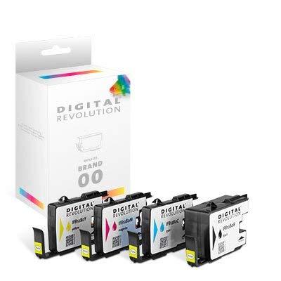 Digital Revolution, Tintenpatrone XL 'schwarz', 62 ml, Originalverpackte Markenpatrone, ersetzt: Brother LC-1280 XL BK, schwarz