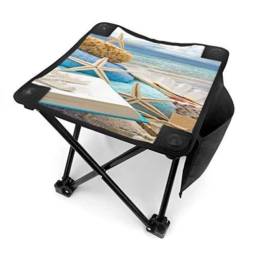 End Nazi Tabouret de Camping Chaises Pliantes Beach Shells Siège de Chaise Portable Starfish