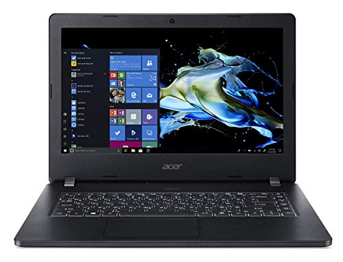 Acer TravelMate P2 Business Laptop, 14' FHD IPS, Intel Core i5-8250U, 8GB DDR4, 256GB SSD, 10 Hrs Battery, Win 10 Pro, TPM 2.0, Mil-Spec, Fingerprint Reader, TMP214-51-55FM (Renewed)