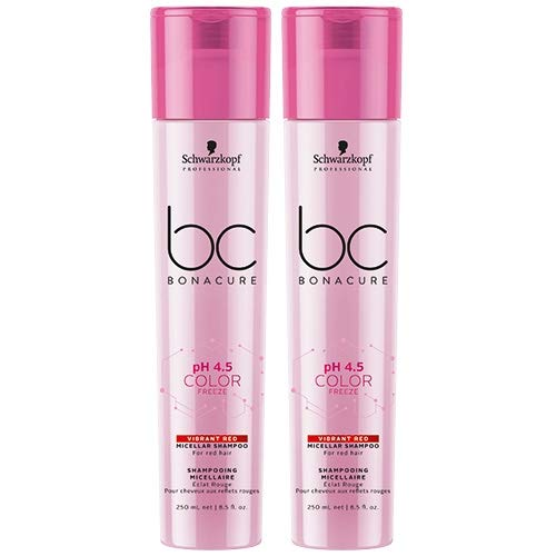 Schwarzkopf BC Bonacure Shampooing double pH 4,5 Color Freeze Red 250 ml