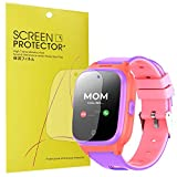 Compatible for Cosmo JrTrack Kids Smartwatch Screen Protector, [6 Pack] YOUkei Premium High Definition Ultra HD Film Compatible for Cosmo JrTrack Kids Smartwatch (6 pack)