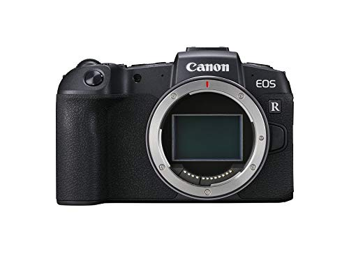 "Canon EOS RP Full Frame Mirrorless Vlogging Portable Digital Camera with 26.2MP Full-Frame CMOS Sensor, Wi-Fi , Bluetooth, 4K Video Recording and 3.0"" Vari-angle Touch LCD Screen, Body, Black,"