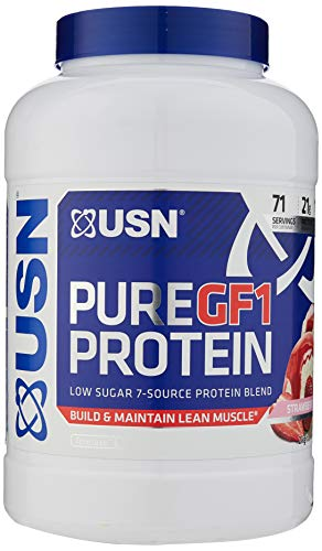 USN 100% Pure GF1 Protein 2KG (7 Source Protein Blend) Lean Muscle Growth