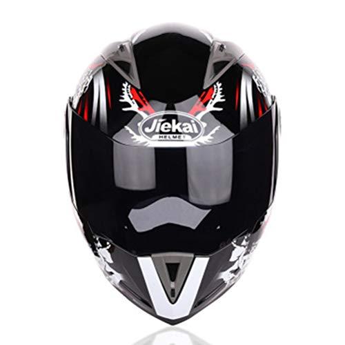 Casco de moto Modular Flip Capacete Casco Dual Lens Racing Cascos de motocross Casco integral de moto