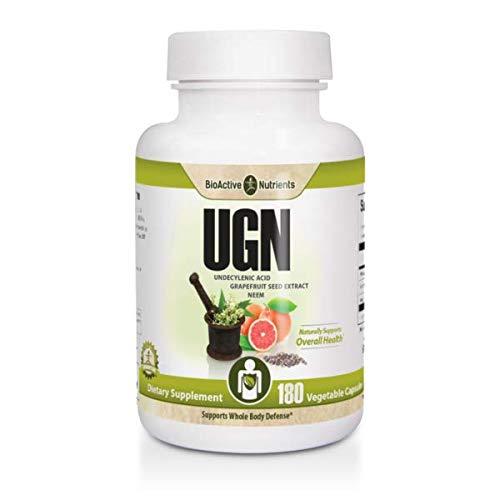 BioActive Nutrients UGN - Undecylenic Acid - Grapefruit Seed Extract -...