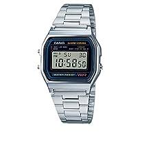 [カシオ] 腕時計 スタンダード A158WA-1JF シルバー