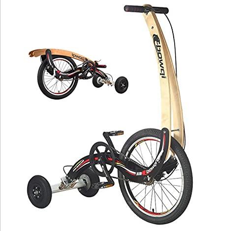 ASEDF Unicycle, Bike Cycling Deportes al Aire Libre Ejercicio Fitness Health, una Rueda de 20 Pulgadas Auto Equilibrio Scooter para Adultos Black
