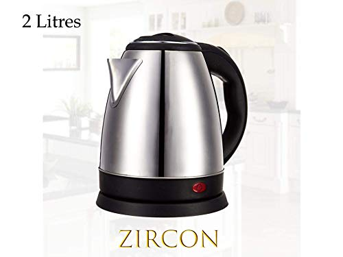 Zircon - Scarlett Automatic Stainless Steel Electric Kettle, 2 litres 2000W