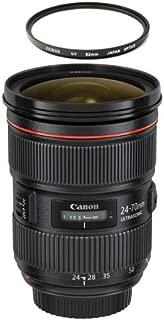 Canon EF 24-70mm f/2.8L II USM Standard Zoom Lens plus Free Zeikos UV Filter