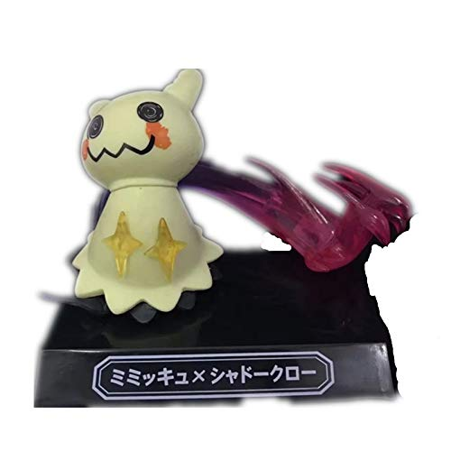 WFLNA The Monster Pocket Moves Figure Anime Chibi Figure Action Figure 5 Style (Color : Mimikyu)