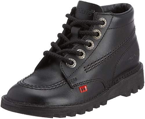 Kickers Unisexs Kick Hi Core Ankle Boots Black 5 UK 38 EU